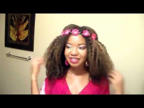 Flower Headband hairstyles-Part 1