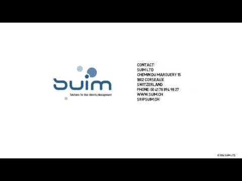 SUIM - Solutions for User Identity Management
