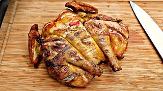 CHICKEN PIRI PIRI - Grilled on the Napoleon TRAVELQ PRO