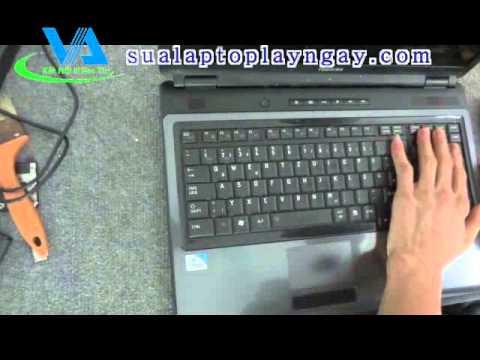Hướng dẫn tự tháo lắp máy tính xách tay laptop TOSHIBA 350, L350, L355, A500, A505