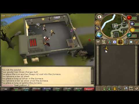 Runescape How to Make Gold Bar