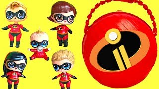 Lol Surprise The Incredibles 2 Help Rescue Punk Boi And Lil