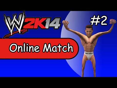 WWE 2K14 Online Match #2 | A$$ Whooped