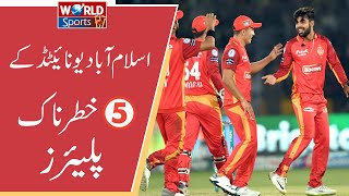 6 Most dangerous batsman | Islamabad United | PSL 2020 | Top 5 Batsman