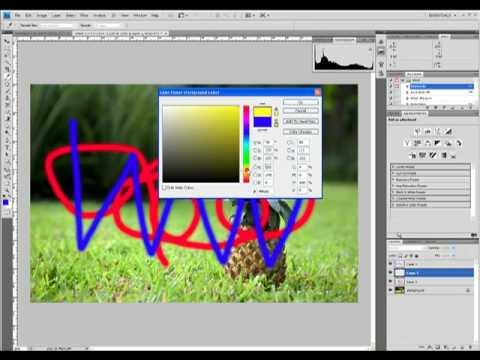 Photoshop CS4 Tutorial : Understanding Layers (Beginner)