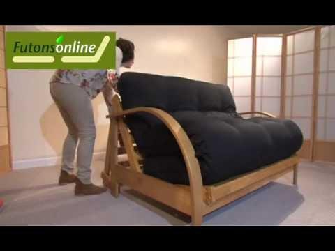 futons online show a dbl.hardwood futon sofabed