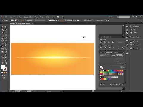 Vector Lighting effect, Color Dodge in Adobe Illustrator - Beginners Training