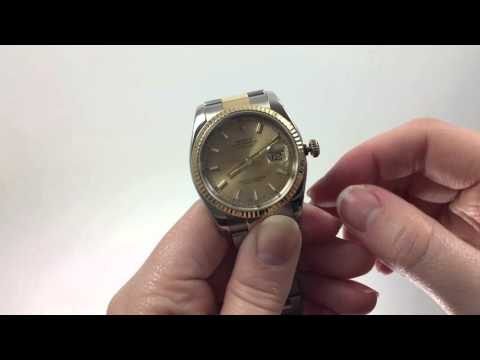 How to Set the Time for the Rolex Datejust