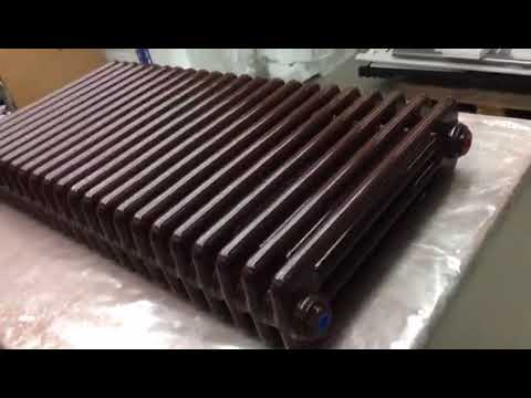 Column radiator Aqua IV., 500mm, Chocolate colour RAL8017