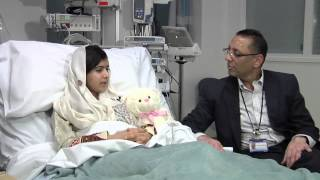 Malala Yousufzai talks about her surgery