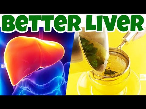 Top 8 [LIVER DETOX] Drinks to Drink to Cleanse Your Liver, Body Fat and IMPROVE LIVER FUNCTION