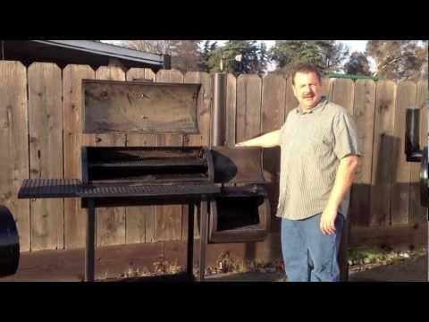 Reverse Flow Offset Smoker By KAT BBQ & Smokers