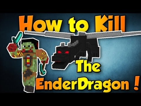 Easiest Way To Kill The Enderdragon (Minecraft 1.9) *Best Way*