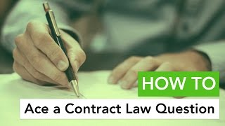 Download How to Ace a Contract Law Question Video
