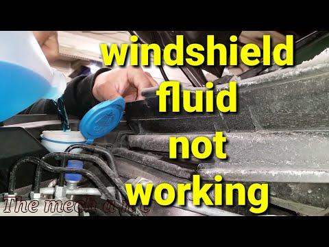 2012 - 2016  honda crv windshield washer pump