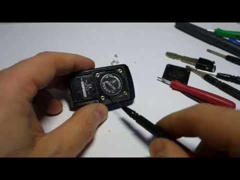 How to replace remote key battery Toyota Prius.Years 2002-2010.