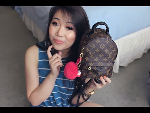 What's In My Bag | Louis Vuitton Palm Springs Mini
