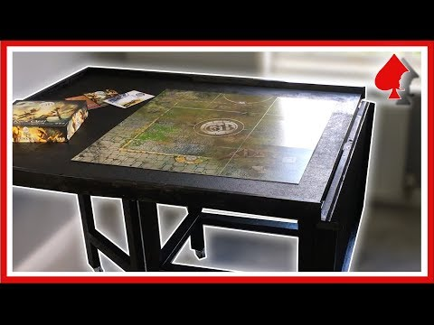 How to Make a Folding Gaming Table for Wargaming or Board Games