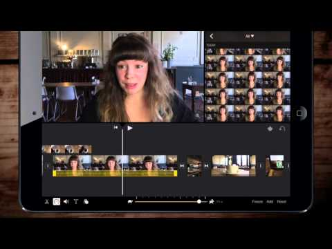 iMovie iOS for iPad Slow and fast motion