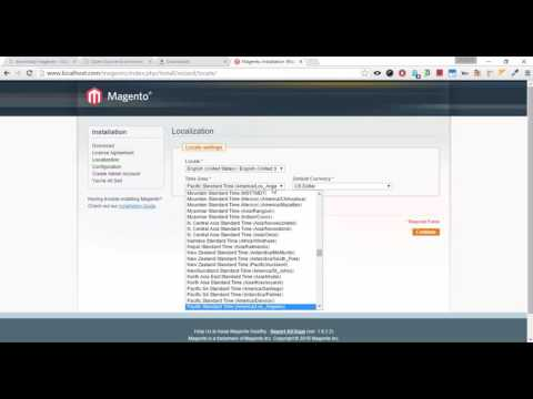 How to install Magento in local system using WAMP