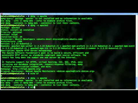 Check if a program is installed  Linux   Debian   dpkg   shell script   BASH