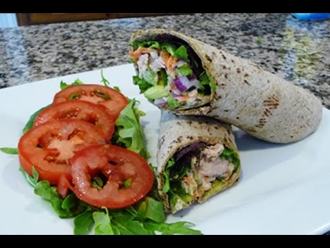 How to, Easy, Healthy Tuna Wrap Recipe