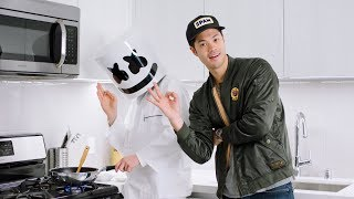 Sweet & Sour Malaysian Chilli Crab with Ross Butler | Cooking With Marshmello