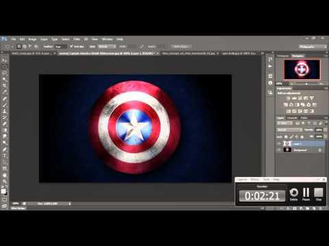 Photoshop Cs6 - Speed Art - The Hero Team
