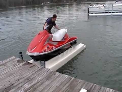 PWC Dock - Wheely Dock LS - Jet Ski Float - carolinafloats
