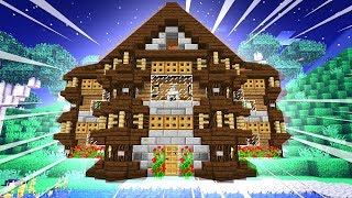 YULIF BUILDS A MINECRAFT MANSION!!! [#23]