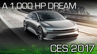 From Tesla to Lucid – CES 2017