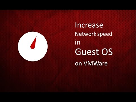 How to increase internet speed in Guest Operating system ( Ubuntu) on VMware