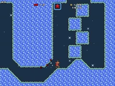 SMBX Custom level - Custom Super Mario Galaxy level XD
