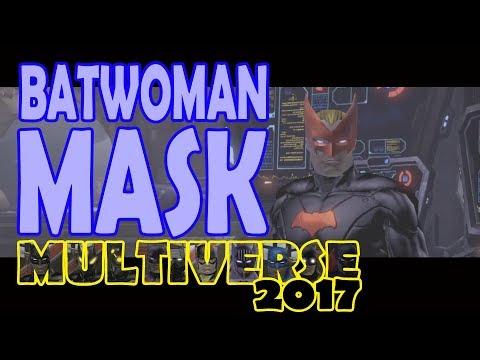 DCUO; Batwoman Mask