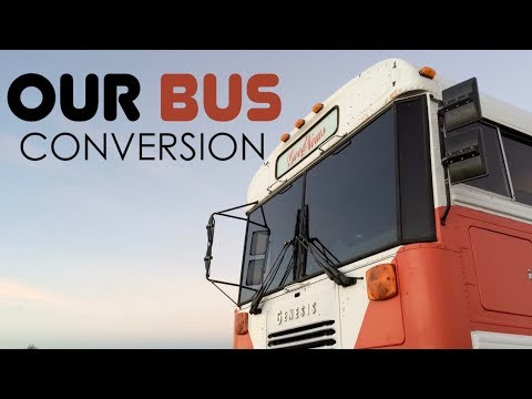 School Bus Converted to Amazing RV for Large Family | The Bus Life