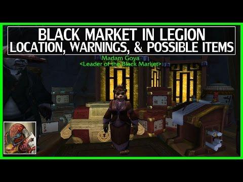 WoW Legion Black Market Auction House(BMAH) Location & Info