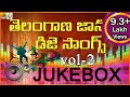 Latest 2016 Dj Songs Telangana Folk Dj Songs Jukebox Dj Song