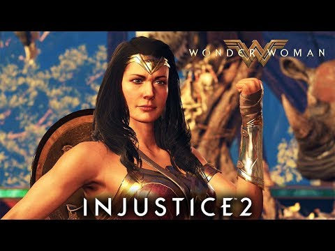 Injustice 2 Wonder Woman Movie Costume Unlocked