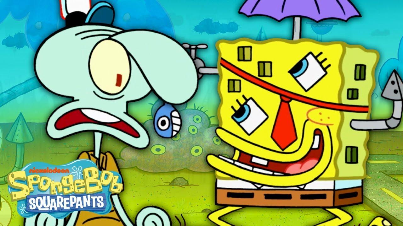 Special Delivery in RandomLand! (Full Scene) 🌈 SpongeBob