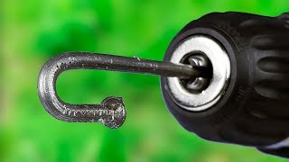 9 AWESOME DRILL MACHINE LIFE HACKS!