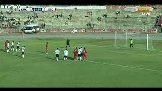 Tazama bocco alivyo piga PENATI _ KMC vs SIMBA SC 1-2