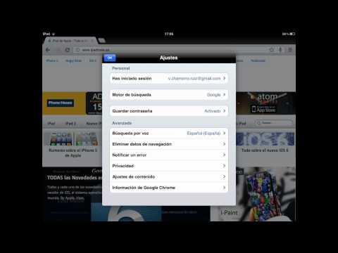 Google Chrome para iPad en la App Store