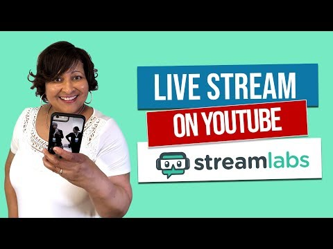 YouTube Live Stream with Streamlabs Mobile App