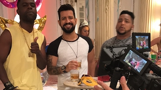 Gravação do videoclipe do DENNIS DJ com Nandinho e Nego Bam