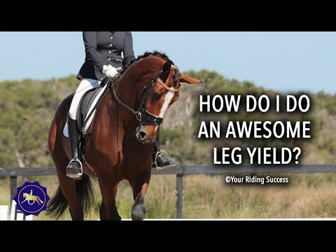How Do You Do A Great Leg Yield To Score Well In Your Dressage Test? - Competition Mastery TV Ep16