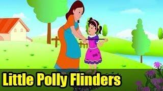 Little Polly Flinders | English Nursery Rhymes for Kids
