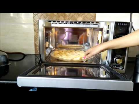 How to use Diet Fry mode in LG Charcoal Lightwave Oven | LG Diet Fry Review by Happy Pumpkins
