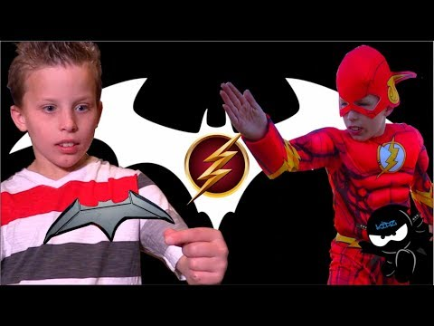 The Flash meets Batman! Ninja Kidz
