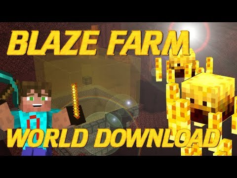 How to Make a Blaze Farm in Minecraft | Minecraft Blaze Farm Tutorial | Survival Friendly Farm
