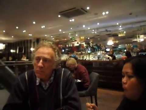 Dinner at london O2 arena restaurant